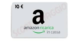 Paga in Contanti con Amazon con Ricarica in Cassa