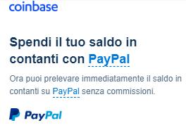 Ritirare i tuoi Bitcoin su un Conto Paypal